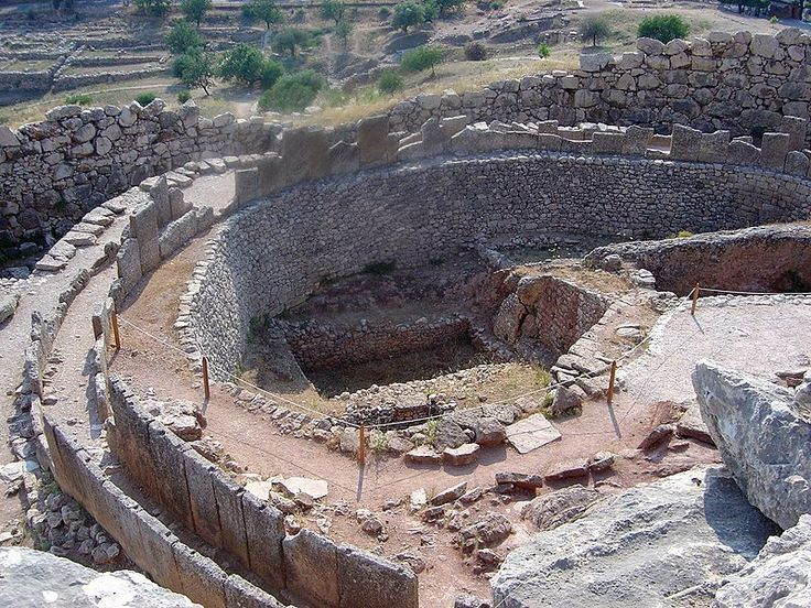 Mycenae, Greece.  Dating back to the bronze-age of Greece.  Ancient even to Plato and Aristotle, the stuff Greek myths are made out of.