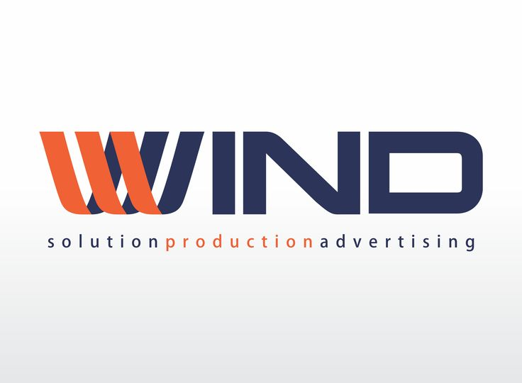 logotype for Wind Production - by Victor Calomfir