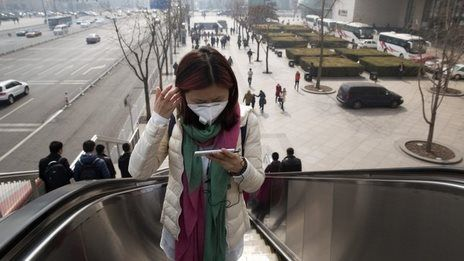 China takes pollution film offline