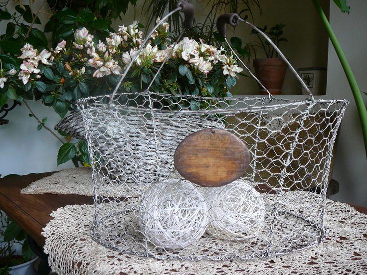 chicken net wire basket