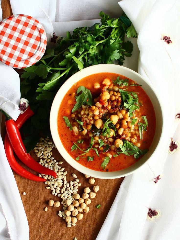 Turecká hrstková polievka - Alaca corbasi