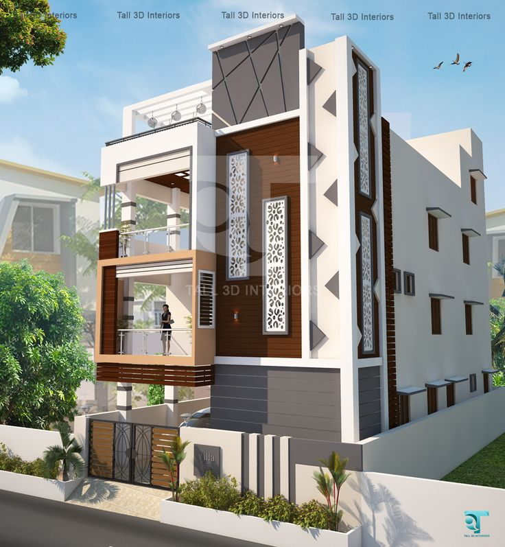 Front Elevation Design Ideas From Architects In Jaipur: Elevation Design For Villas