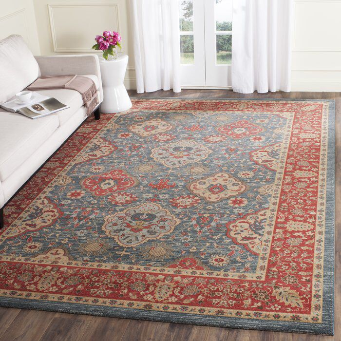 Alto Red Blue Area Rug Ideas For The House Rugs Red Rugs