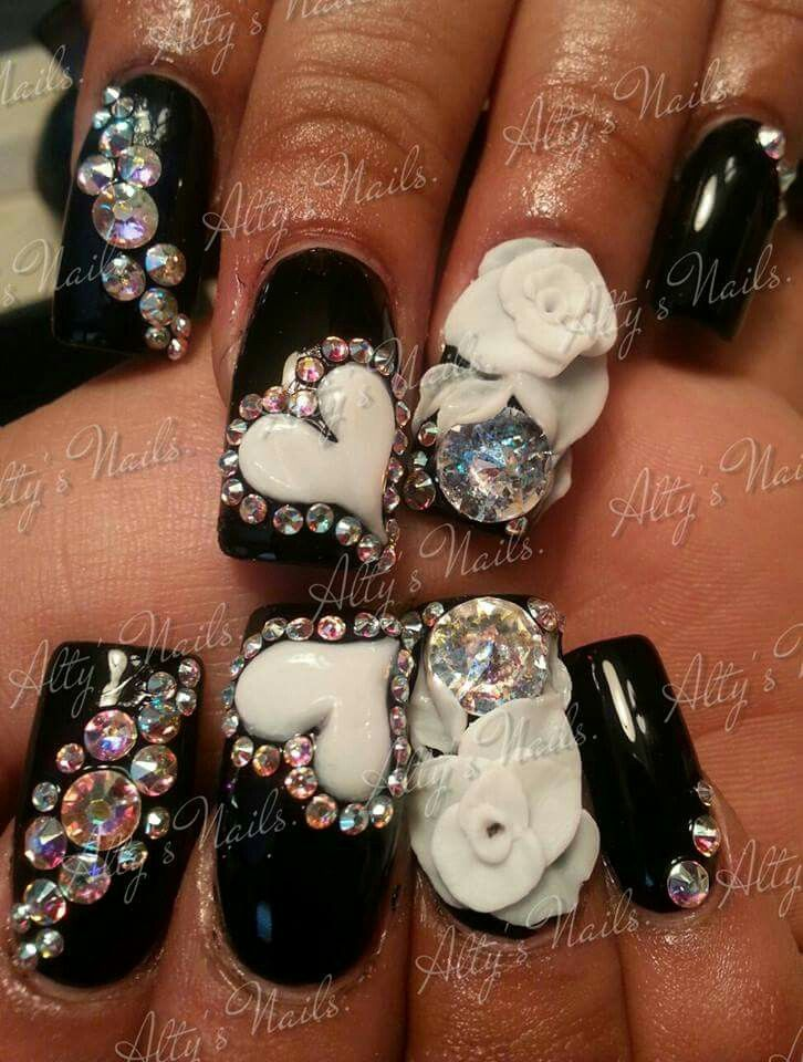 Amazing Sinaloa Style Nails Gallery - Nail Paint Design Ideas ...