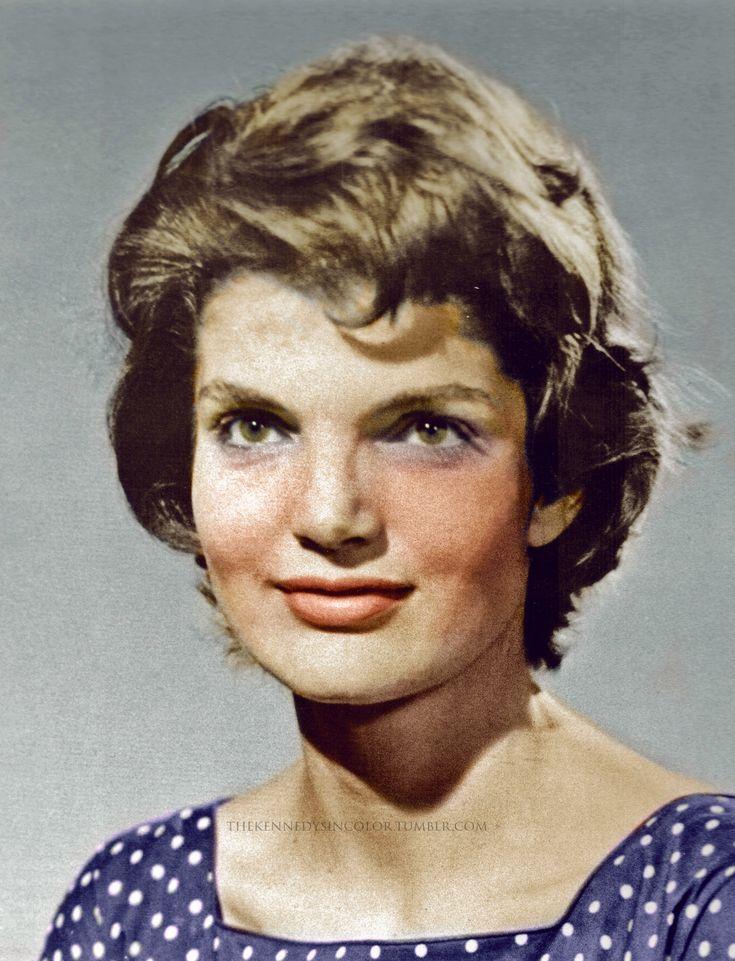 "Jacqueline ""Jackie"" Lee Bouvier Kennedy, ca. 1953"