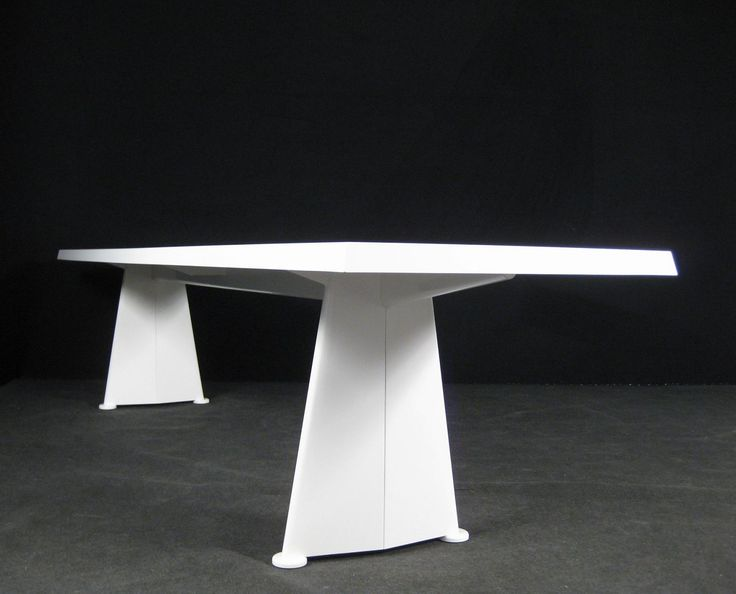 Jean prouve trapeze table limited reedition vitra designer - Jean prouve reedition ...