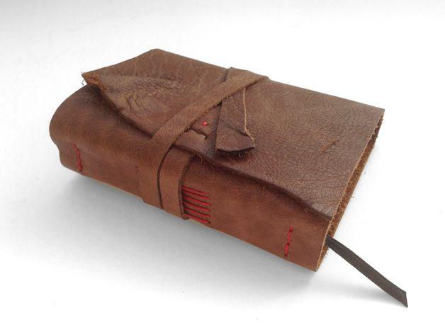 Tagebuch aus Leder, Lederbuch Notizbuch *lindgr...