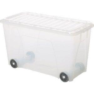Plastic Storage Boxes Lids Wheels