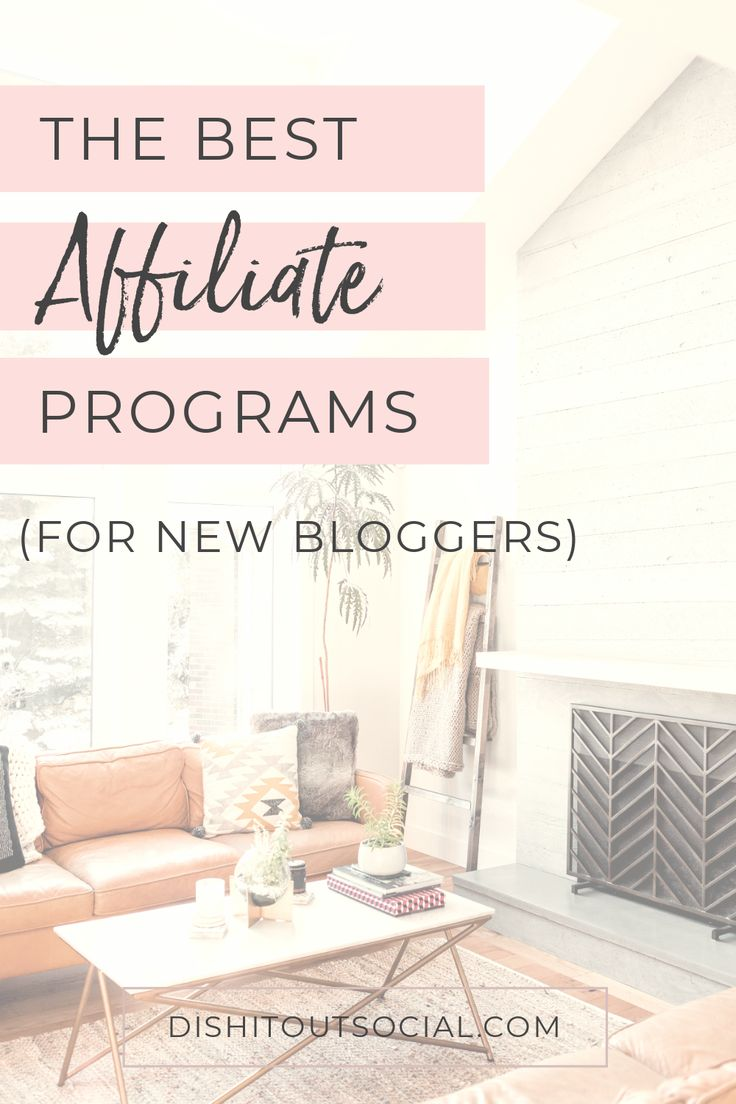 The Best Affiliate Programs for New Bloggers If youu2019re a brand new blogger … – hnory.chahinem
