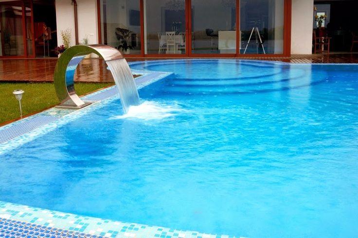 Cascatas para piscinas veja modelos lindos dicas for Modelos de piscinas caseras