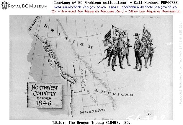 1846 - THE OREGON TREATY (1846), #25.