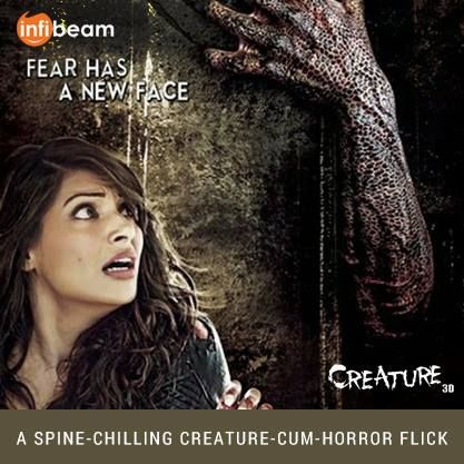 Creature 3D Movie : A SPINE-CHILLING CREATURE-CUM-HORROR FLICK !   Order yours Now !  #Creature3D #Movie #MovieDVD #DVD #Bollywood Bipasha Basu