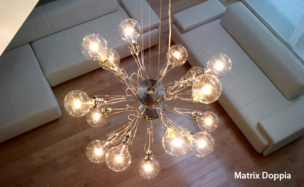 Onze woonkamer lamp: Matrix Otto van Lumina