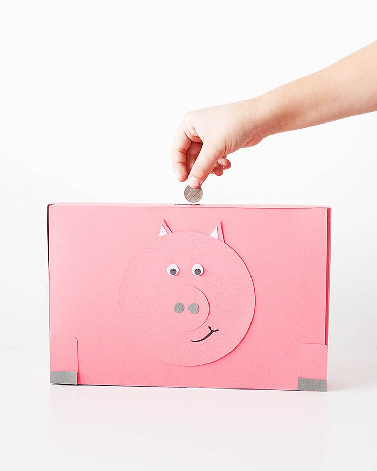 18 amazing things parents made for their kids with a for How to make a simple piggy bank