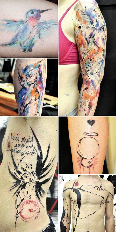 Путеводитель по самому спорному и одновременно художественному жанру татуировок — ар-брюту. Изображение № 16.