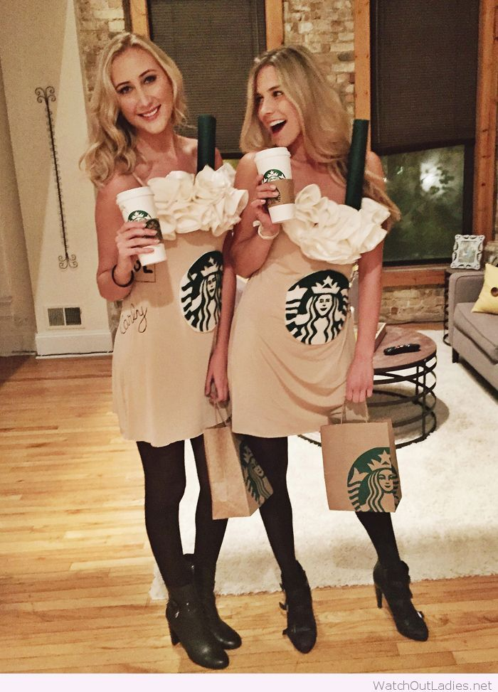 starbucks halloween costumes for girls - Simple And Creative Halloween Costumes