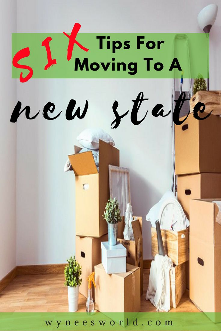 Moving To A New State Follow My Checklist With 6 Tips On How To Ensure You Have A Smooth Moving Tips For Moving Out Moving To Another State Moving House Tips