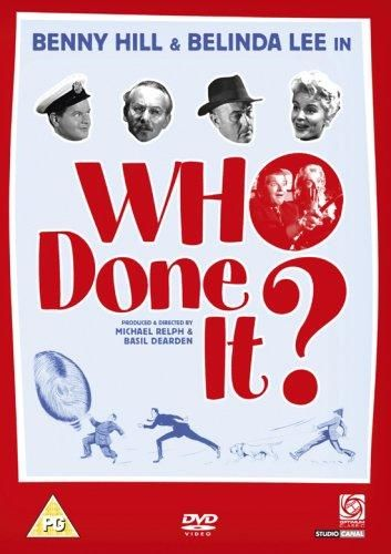 Who done it? (1956) Reino Unido. Dir.: Basil Dearden. Comedia. Policiaco - DVD CINE 1959-V