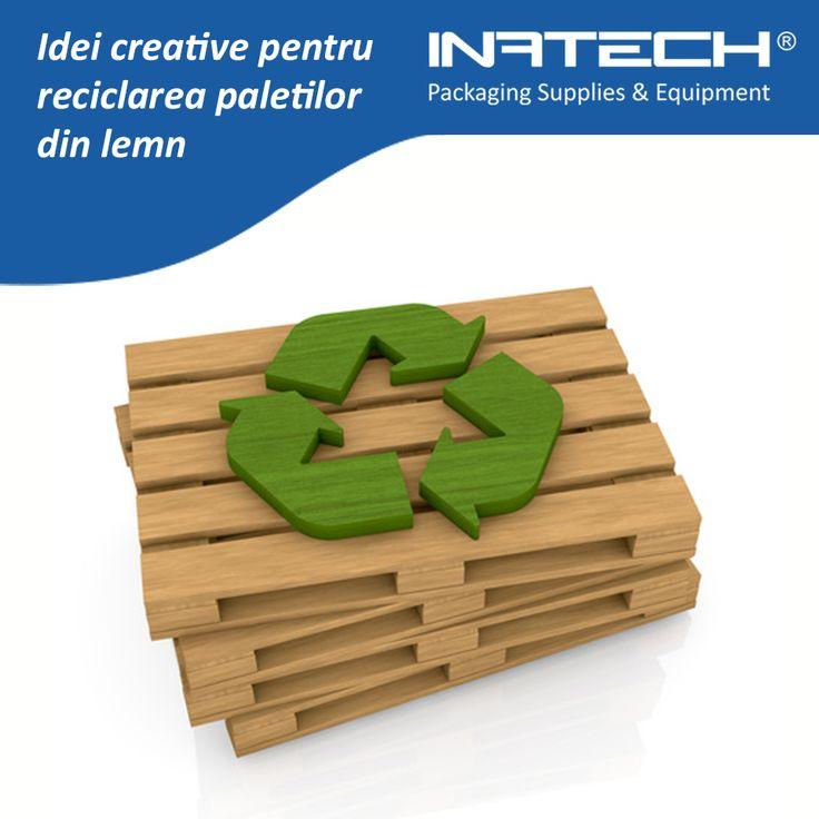 Idei creative pentru reciclarea paletilor din lemn