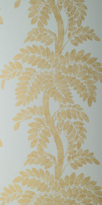 love this wallpaper - Thibaut Wisteria