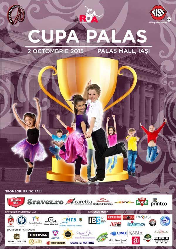 """Concursul International de Dans """"Cupa Palas"""", editia 2015"""