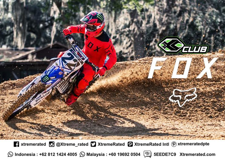 Exclusive Fox Apparels & Protections Available in all XCLUB leading stores  #xtremerated #xclub #foxracing #apparels #protections