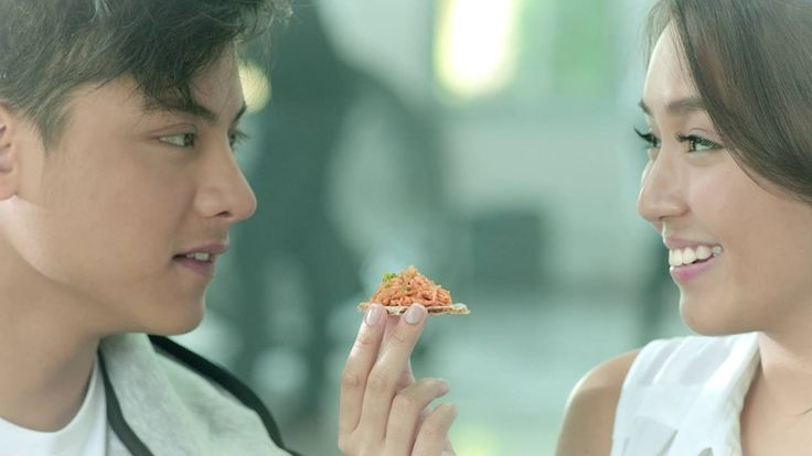 "This is a commercial of San Marino Corned Tuna featuring the handsome Daniel Padilla and the pretty Kathryn Bernardo trying this tuna product as a healthy eating option. ""Here's to love that lasts, indeed."" #SanMarinoCornedTuna #DanielPadilla #KathrynBernardo #KathNiel #KathNielBernaDilla #BarcelonaALoveUntold"