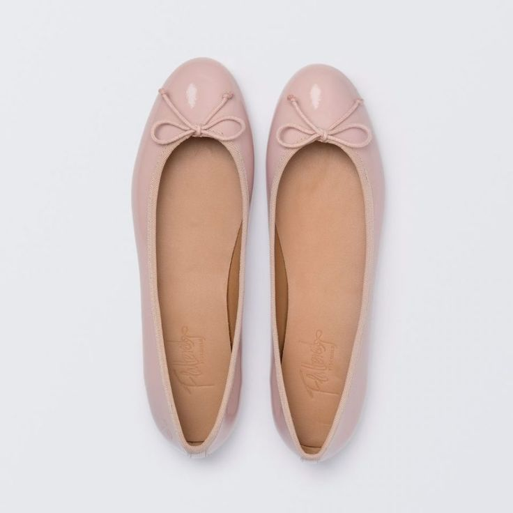 Nadia - Nude Pink Patent Leather