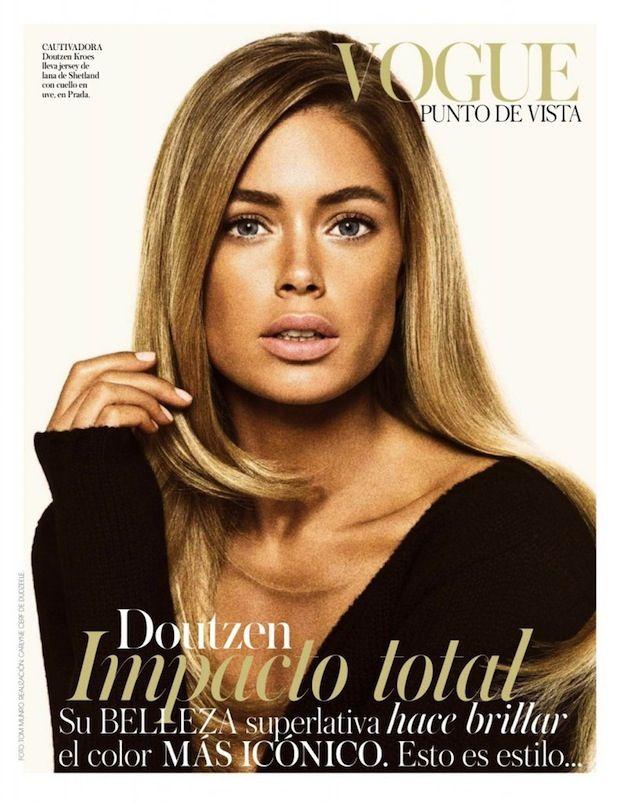 doutzen kroes september issue vogue espana spain spaanse spanje cover shoot video behind the scenes nederlands model doutzen kroes