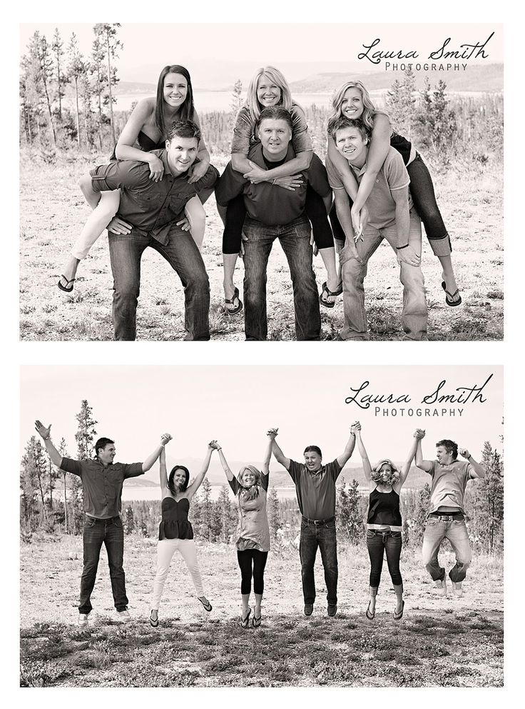 Family photo posing ideas