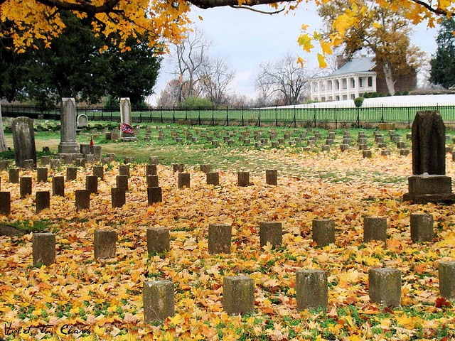 McGavock Confederate Cemetery, Franklin TN.  Largest privately owned military cemetery in the United States.