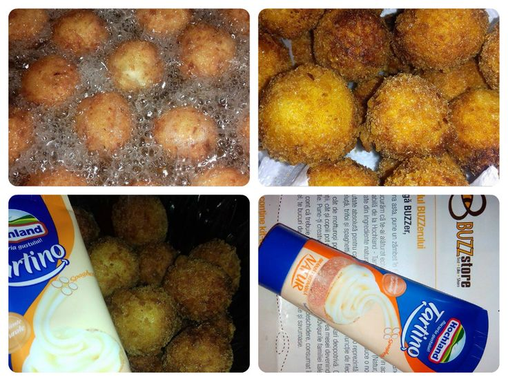 Bulete de cascaval si branza tartinabila Hochland tartino,merita incercat,delicios! #buzztartino