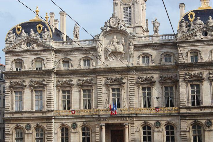 Hôtel de Ville de Lyon (city hall), viewed from Place des Terreaux