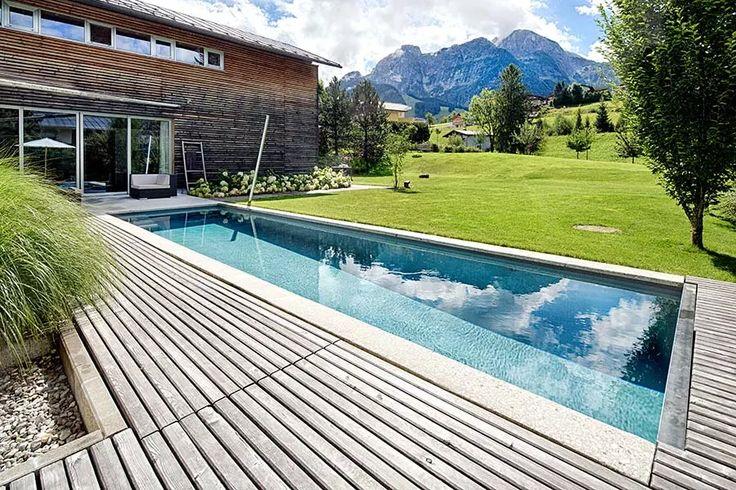 1000 bilder zu ideen f r swimming pools schwimmbecken for Swimming pool folie erneuern