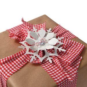 Snowflake Gift Topper