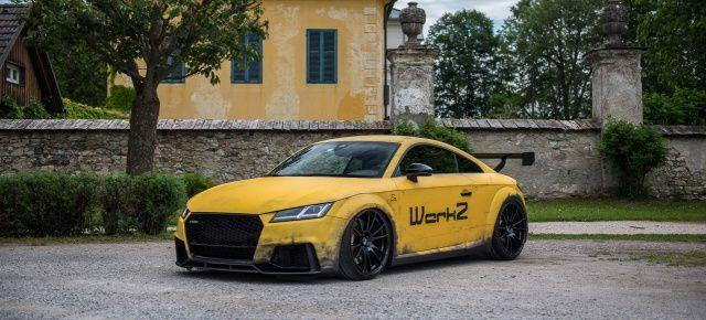 """Polieren zwecklos: Audi TTRS von Werk 2 im """"Dirty Racing""""-Langstreckenlook"""