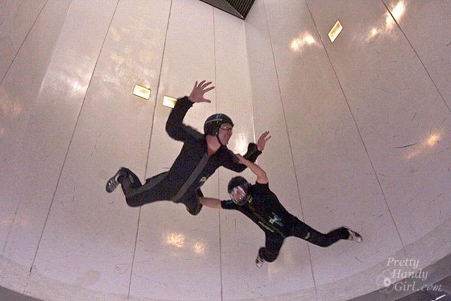 I've been Indoor Skydiving too!