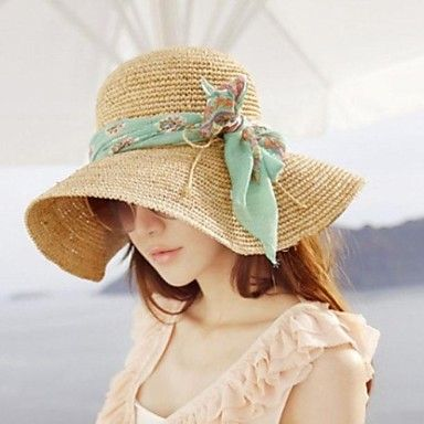 Womens Summer Design Bowknot Hat