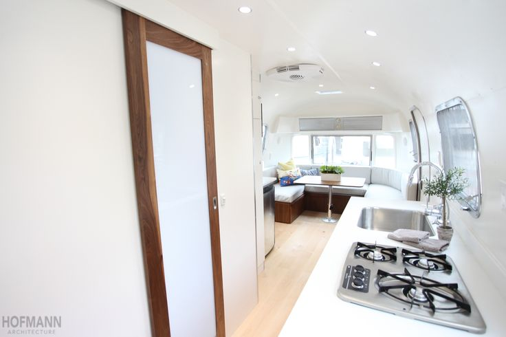 Mary is a beautiful airstream designed by Hofmann Architecture.