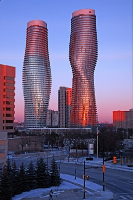 Absolute Towers in Mississauga, Ontario