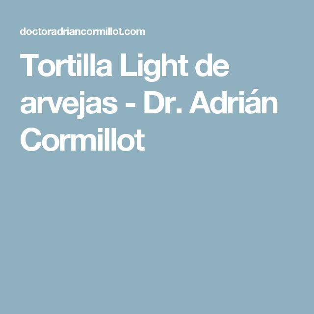 Tortilla Light de arvejas - Dr. Adrián Cormillot