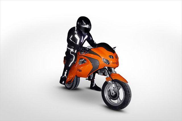 uno3 Tranform electric motorcycle
