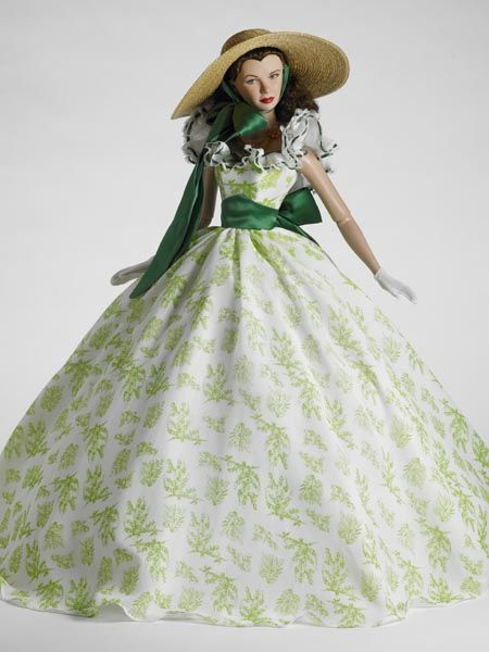 "SCARLETT Gone whit the wind TWELVE OAKS,  22"" American Model™ Body, limited edition 100 by Tonner Doll Company"
