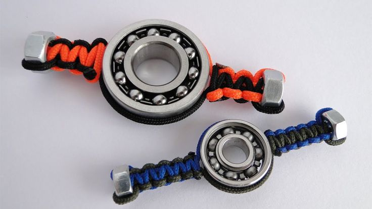 Fid ing with paracord paracord spinner
