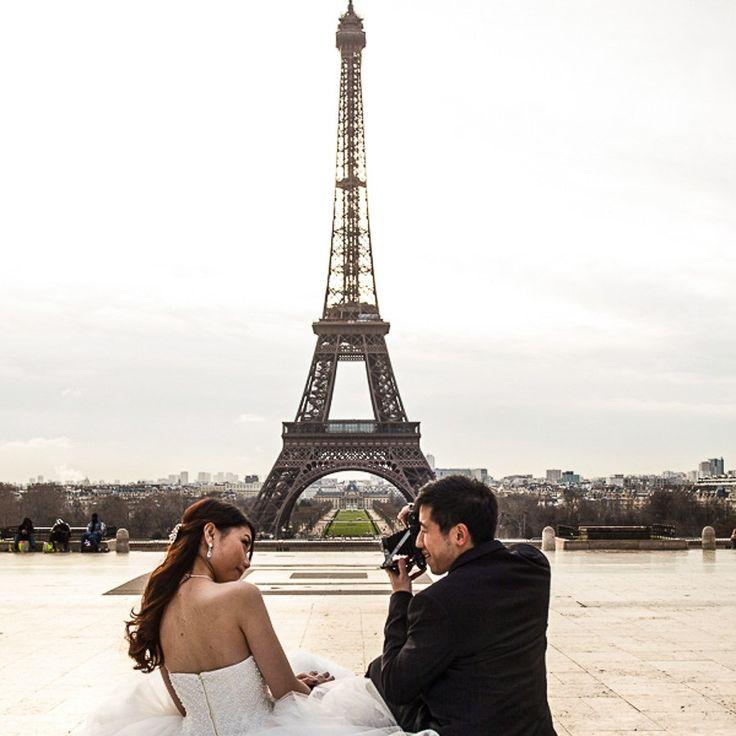wedding portraits at Paris