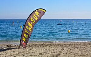 Kayaking & SUP boards for rent at Burriana Beach