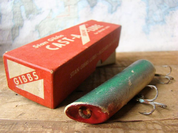 17 best ideas about vintage fishing lures on pinterest | fishing, Hard Baits