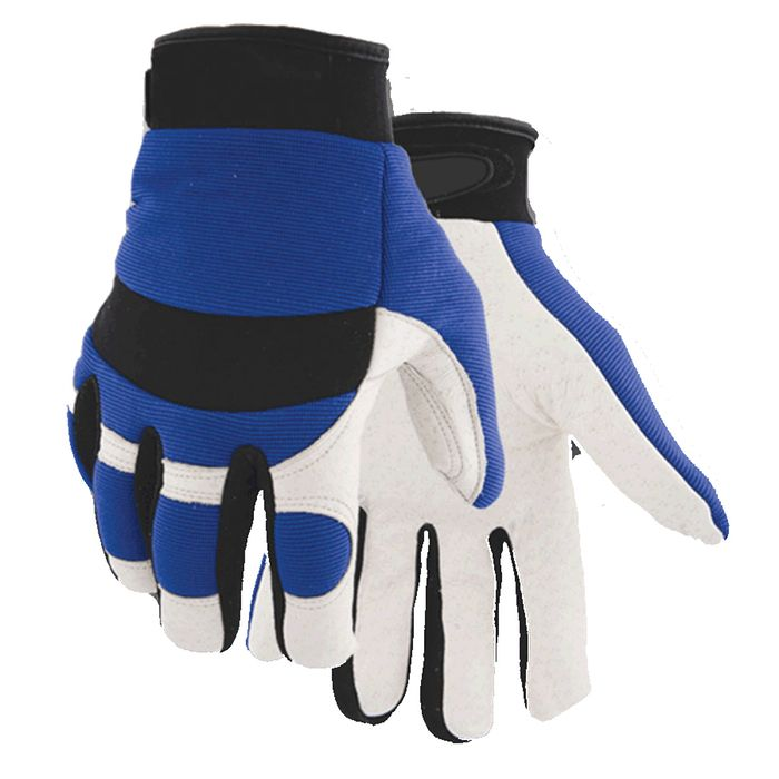 Golden Stag Pigskin Leather Waterproof Gloves $11!