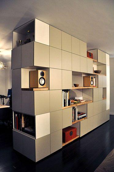 custom room divider.  MADE, Brooklyn