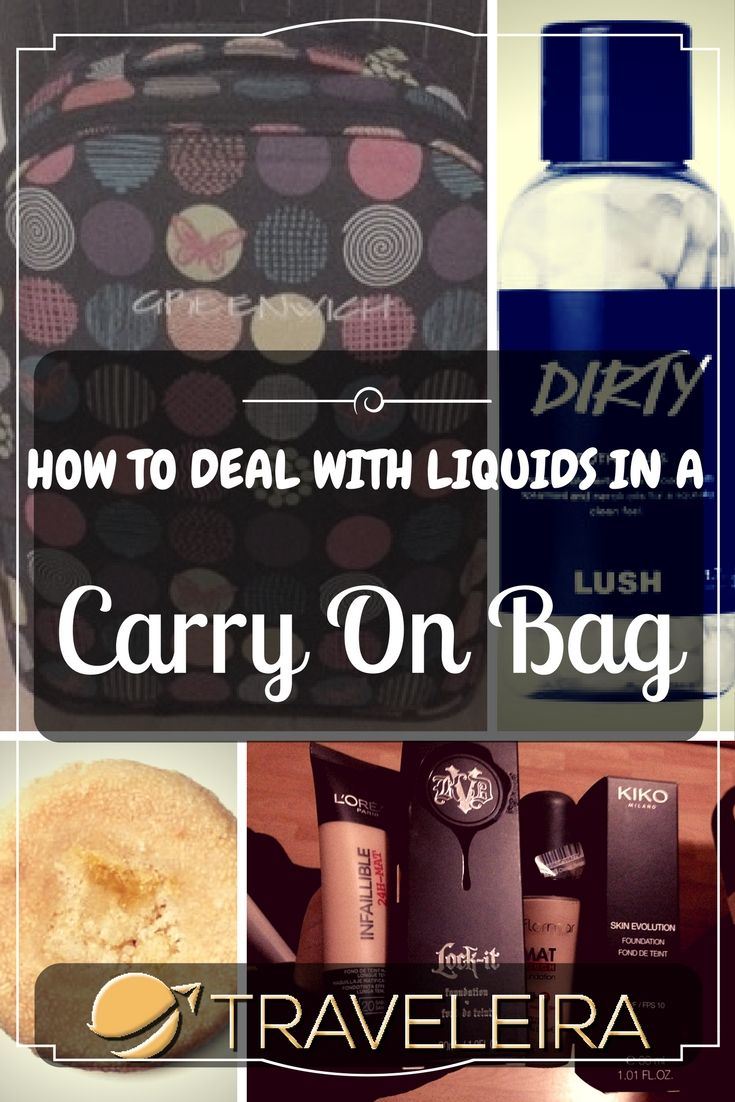 Have you ever suffered packing a carry on bag when it comes to liquids? Here just a few tips.